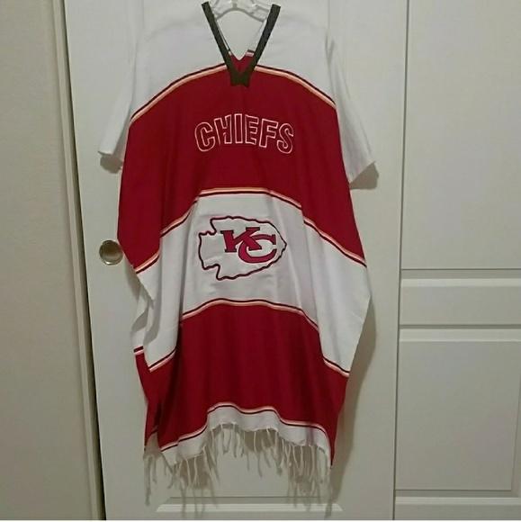 ff471bc8 Kansas City Chiefs Poncho